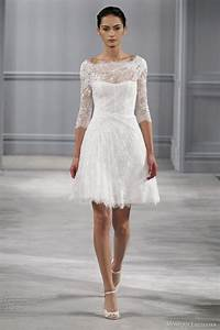 7 gorgeous types of long sleeved wedding dresses you need With knee length long sleeve wedding dress