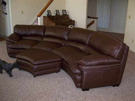 semi circular leather sofa 20 best collection of semi circular sectional sofas sofa