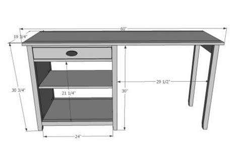 wood office ideas diy student desk plans bee box plans