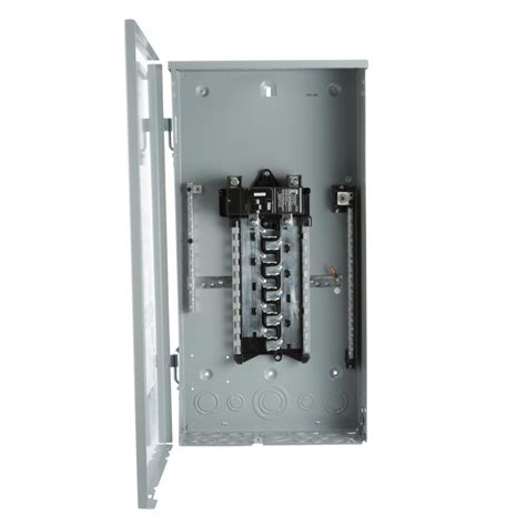 square d homeline 200 40 space 80 circuit indoor breaker on neutral load center
