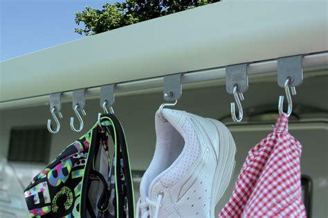 Fiamma Kit Awning Hangers, Campervan Caravan And Motorhome