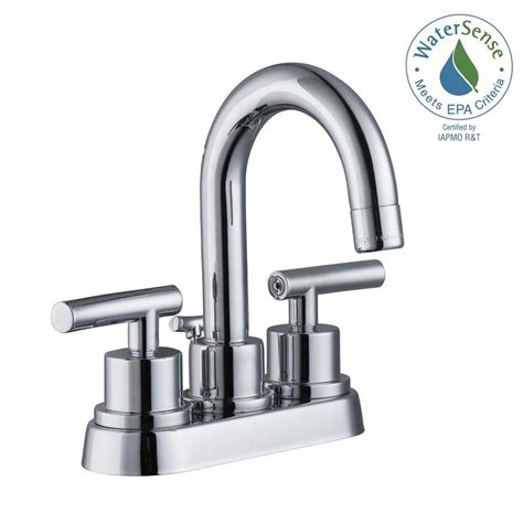 kitchen sinks with faucets glacier bay dorset 4 in centerset 2 handle bathroom 6101