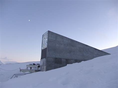 spitsbergen seed vault norway opens a doomsday vault to house world s most precious books business insider