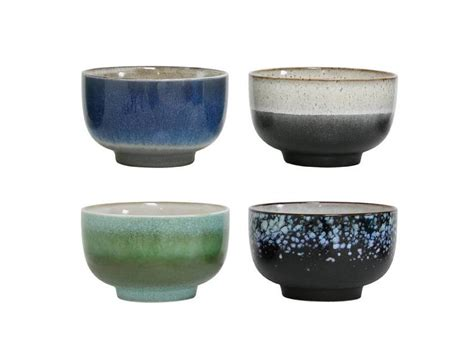 Set Keramik by Hk Living Bowl Ceramic Set Of 4 Living And Co