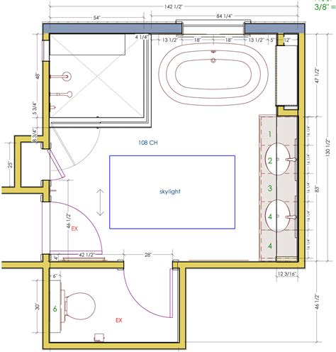 bathroom layout designs adorable 50 master bathroom layout without tub design