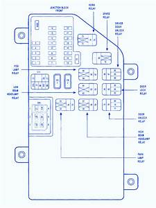 Chrysler 300m 2000 Fuse Box  Block Circuit Breaker Diagram
