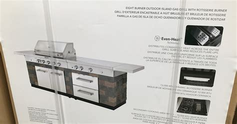 kitchenaid  burner outdoor island gas grill