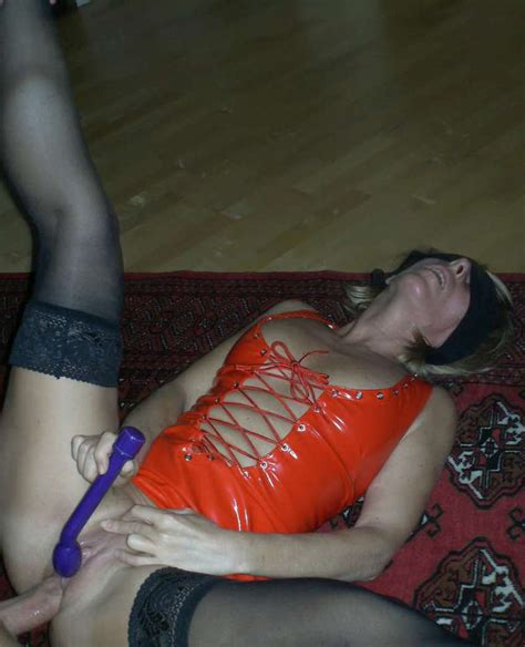 milf blindfolded party