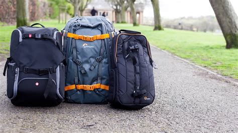 camera bags backpacks  sling bags transport  photography youtube
