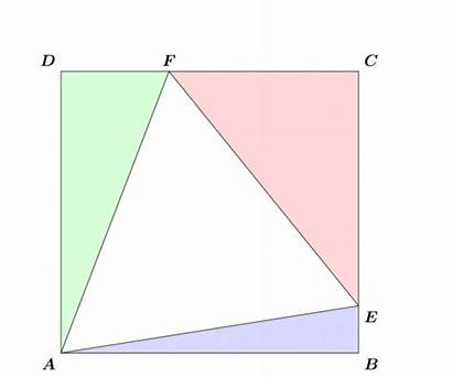 Equilateral Inscribed Triangle Animation Rectangle Solution Stare