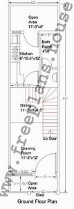 12×45 Feet /50 Square Meter House Plan,