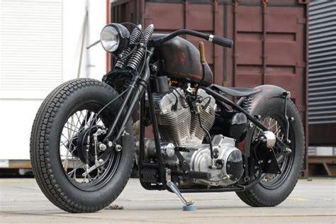 Black Harley Davidson Sportster Bobber Image