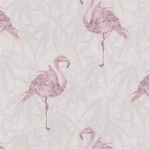 Contour Flamingo wallpaper from Wilko Bathroom