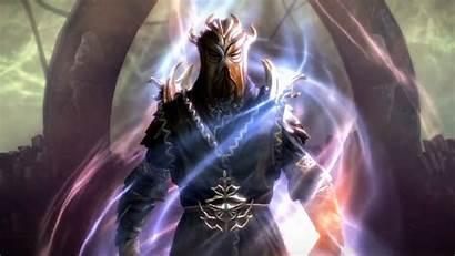 Elder Scrolls Skyrim Dragonborn Miraak Artwork Wallpapers
