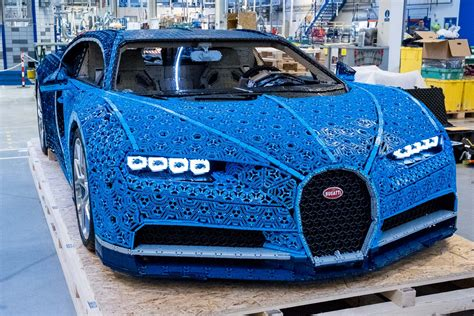 As fans of cars, we were really amazed that we were even able to do a bugatti. LEGO Technic Bugatti Chiron Life-Size Model-48   The Brothers Brick   The Brothers Brick