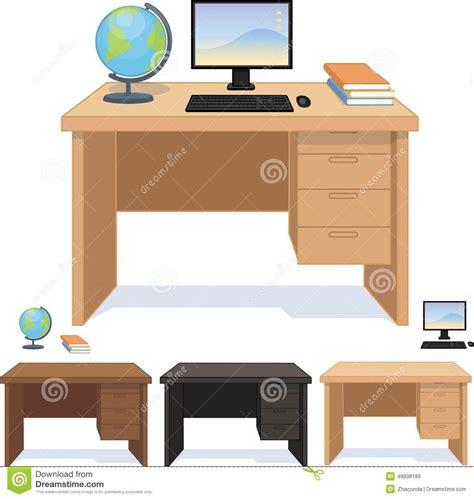 bureau vituel bureau en bois pour l 39 ensemble d 39 élève et d 39 étudiant de