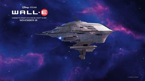 Wall-E Cruise Space Ship Desktop Wallpaper