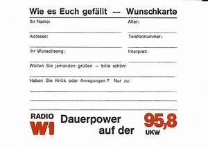 Wie Es Euch Gefällt Hannover : die geschichte von radio w1 in w rzburg ~ Buech-reservation.com Haus und Dekorationen