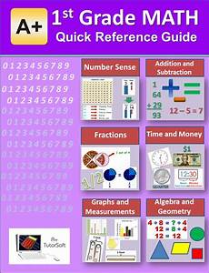 Free 1st Grade Math Quick Reference Guide