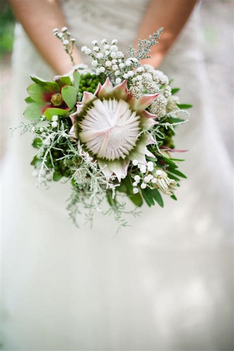 Protea Wedding Wedding Bouquets And Bouquets On Pinterest