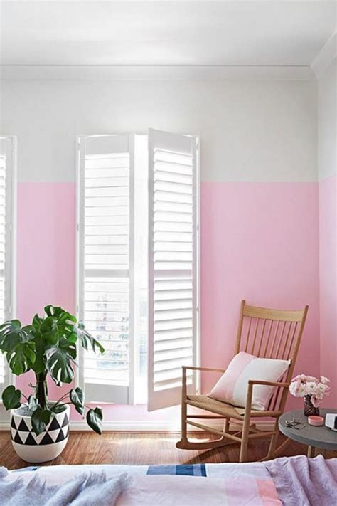 partial wall ideas the latest decor trend 29 half painted wall decor ideas digsdigs