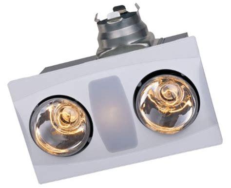 Bathroom Heat Light Bulb by Save Aero A515a W 2 Bulb Bathroom Heater Fan