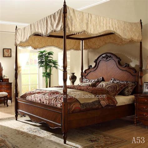 luxury furniture king size bed royal classic bedroom set