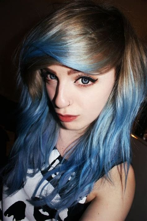 dark brown hair with light brown tips 44 best images about blonde blue hair on pinterest