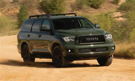 toyota sequoia review pricing specs conquest