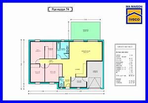 constructeurvendeenet plans de maisons With plan maison t4 plain pied