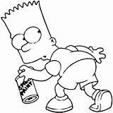 Simpson Malvorlagen Irockdecals Haikaiss 열기 Coloringforkids Bartsimpson sketch template