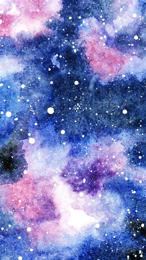 galaxie  aquarell maedchenkunst