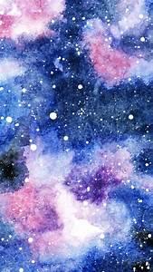 Malen Mit Wasserfarben : galaxie in aquarell m dchenkunst ~ Orissabook.com Haus und Dekorationen