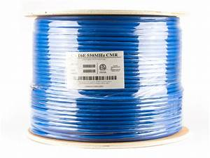 Cable Informatique Cat 6 : cat6 shielded network cable solid stp blue riser cmr ~ Edinachiropracticcenter.com Idées de Décoration