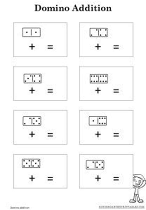 Blank Domino Math Worksheets  Addition With Pictures Worksheetsaddition Math Worksheets For