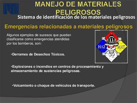 manejo de materiales peligrosos jes 250 s gonz 225 19561133