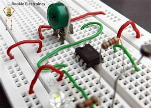 Simple Light Sensor Using 741 Op
