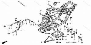 Honda Atv 2002 Oem Parts Diagram For Frame