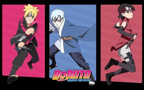 Boruto Mitsuki And Sarada Anime Boruto The Movie Wallpaper