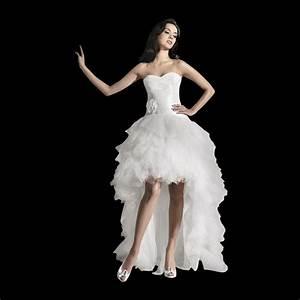 freya short front long back wedding dress unique style With short in the front long in the back wedding dresses