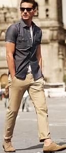 Why Khaki Pant is essential for Menu0026#39;s Capsule Wardrobe? - LooksGud.in