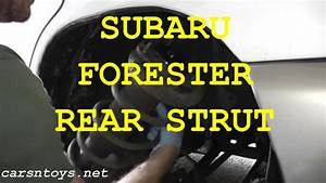 Subaru Forester Rear Shock  Strut  Replacement With Basic