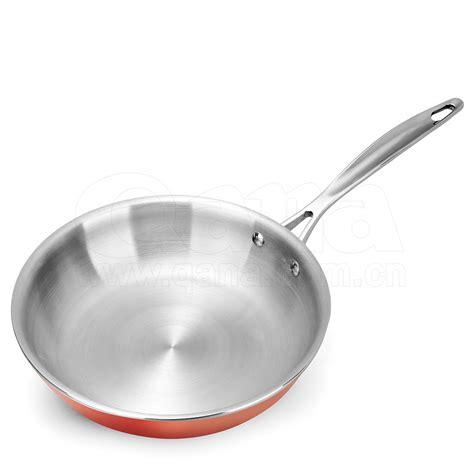 hot sale stainless steel knob handle nonstick luxury copper cookware set buy cookware
