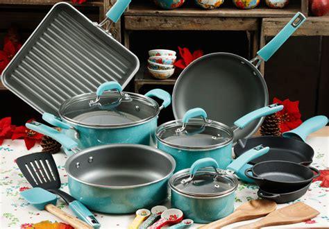 reg  pioneer woman  piece cookware set  shipping