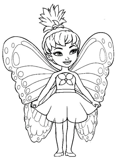 Sugar Plum Fairy Coloring Page at GetColorings com Free