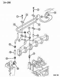 1994 Dodge Ram 2500 Heater Plumbing