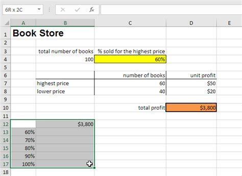 excel what if analysis data table excel datatables exles newhairstylesformen2014 com