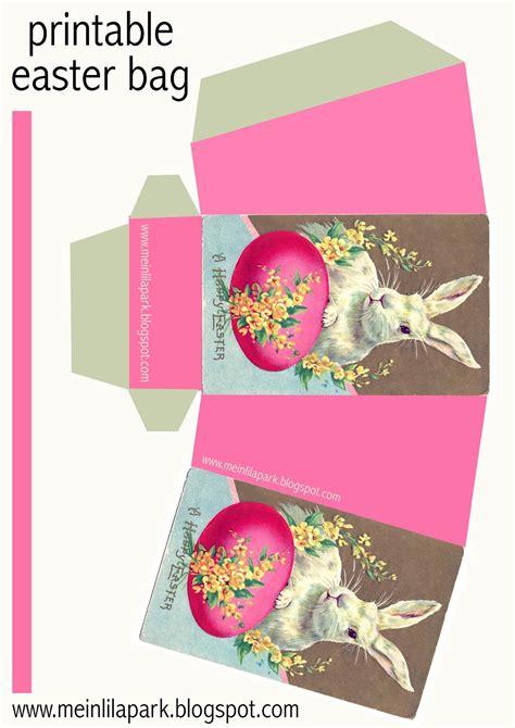printable diy easter bunny box ausdruckbarer