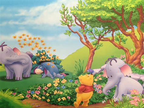 winnie  pooh eeyore  elephant heffalump summer