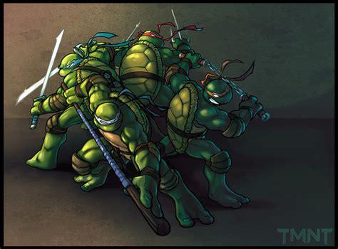 teenage mutant ninja turtles tmnt cartoon wallpaper